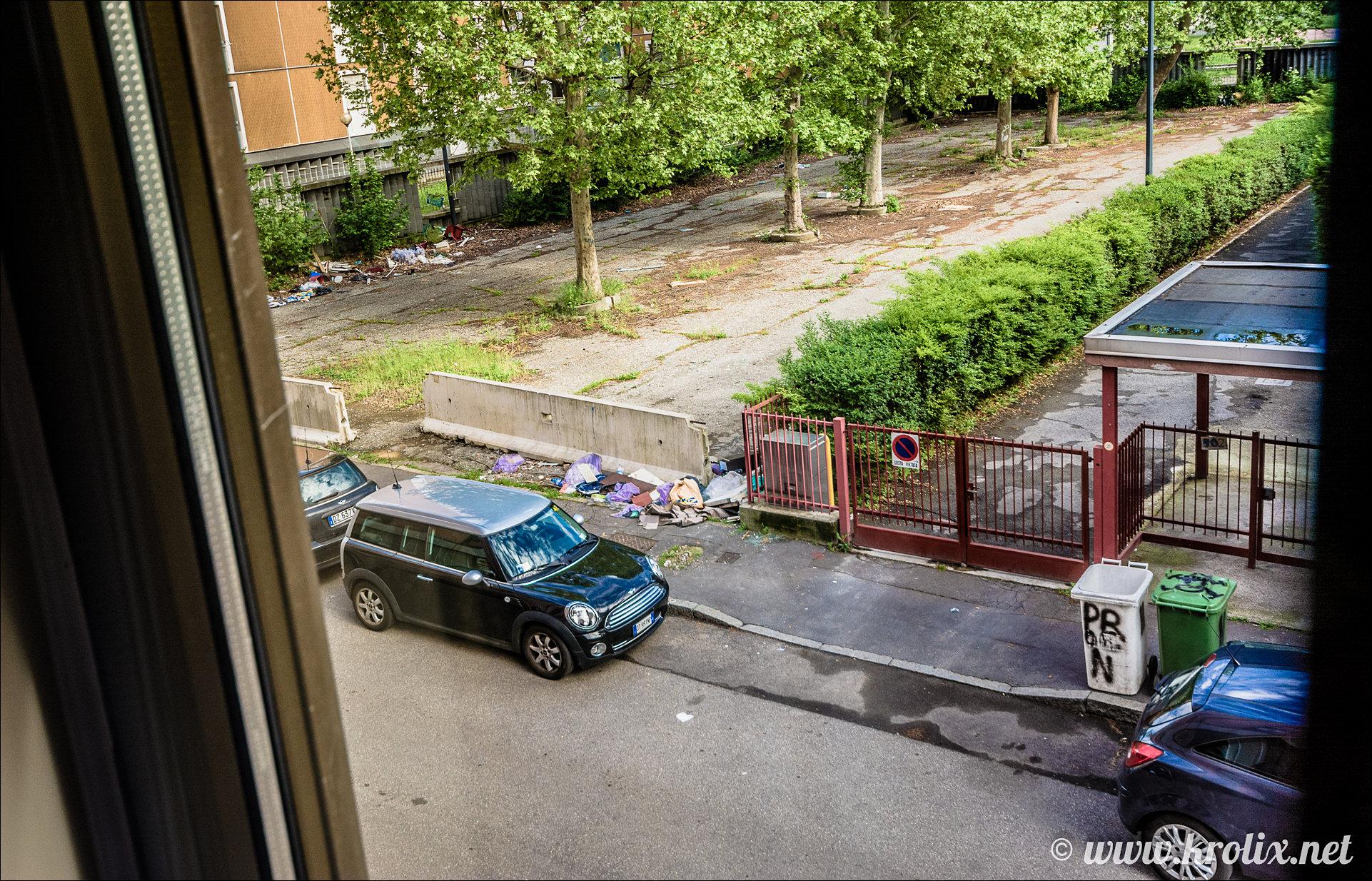 5. Вот такой чудесный вид из окна Starhotels Tourist :)