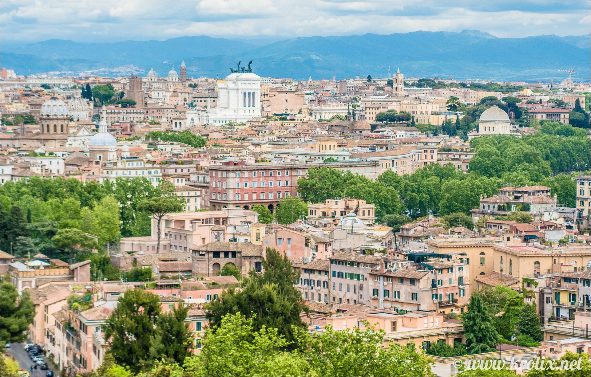 1. Панорама Рима