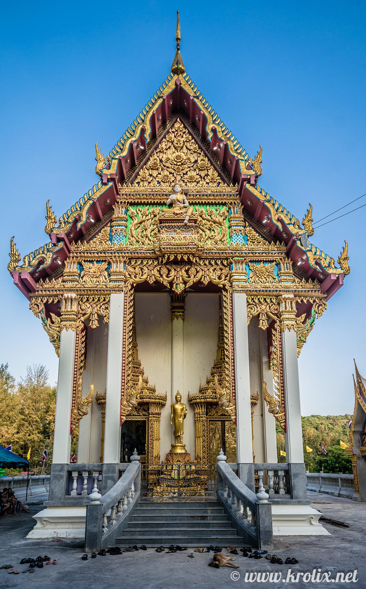 Главная пагода, рядом с которой читались мантры, усиленные динамиками до 100+ децибел :))