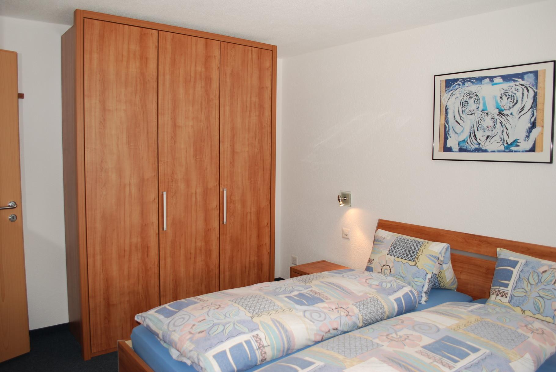 Double bedroom in the ground floor