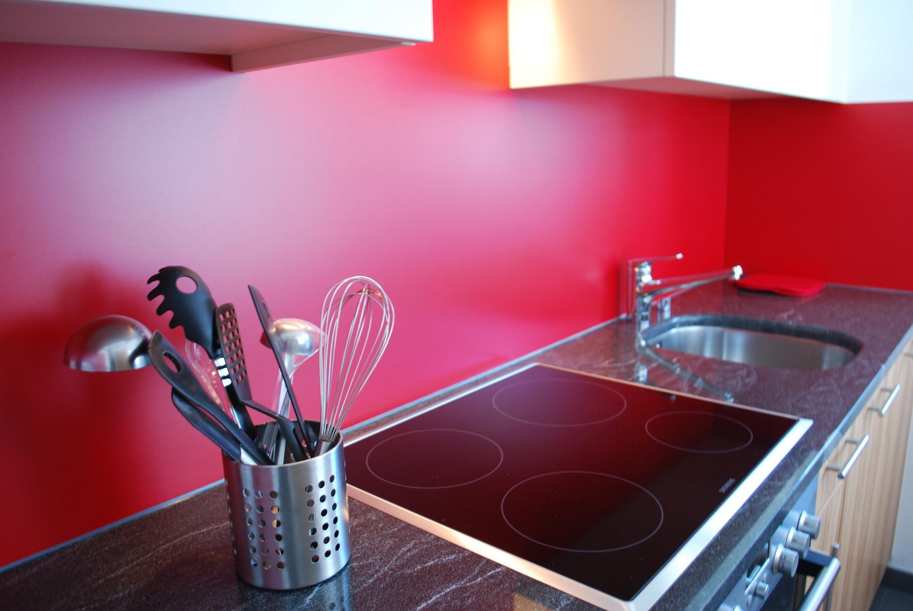 Kitchen in the ground floor apartment