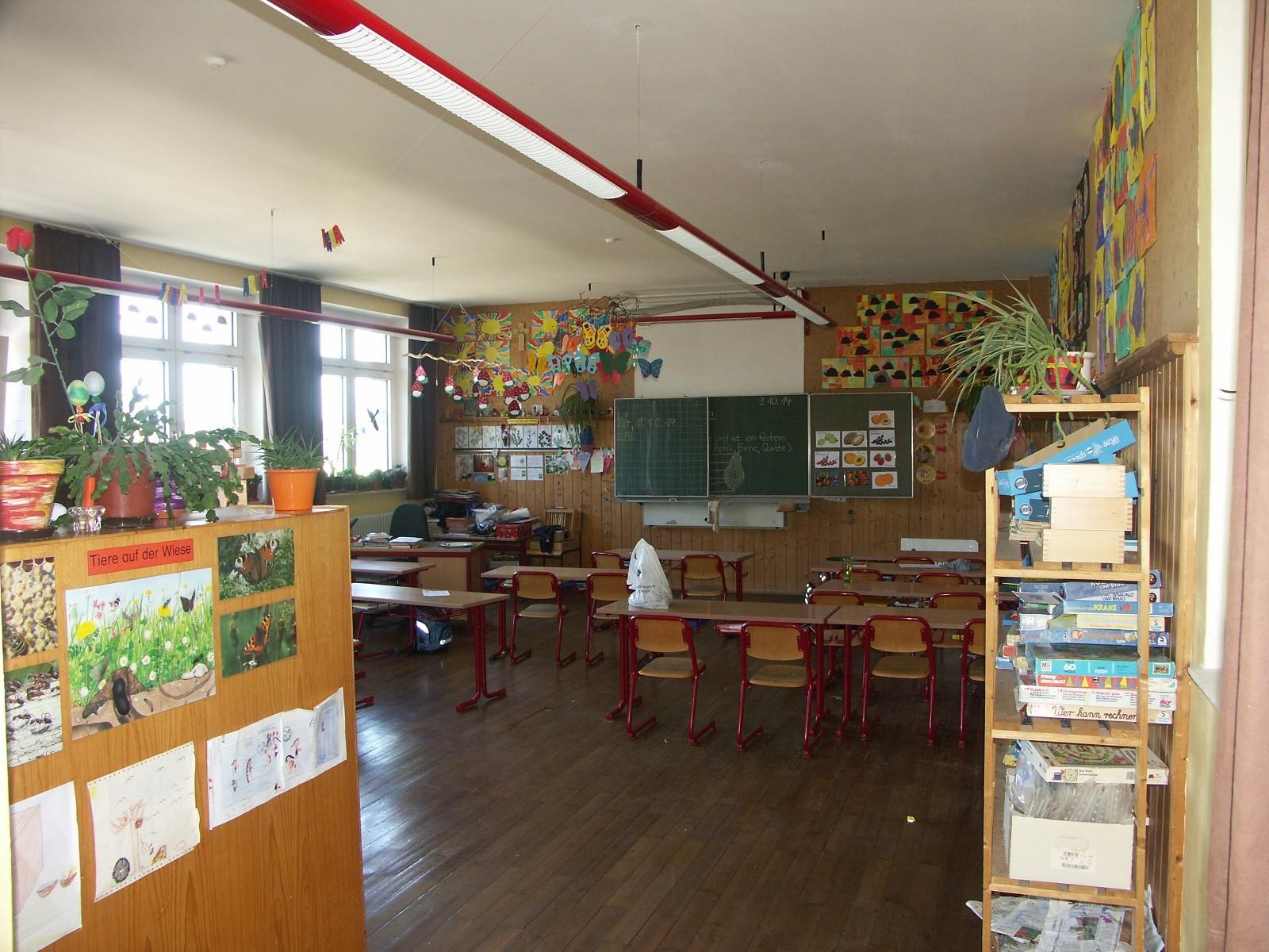 So schön können alte Klassenzimmer sein.