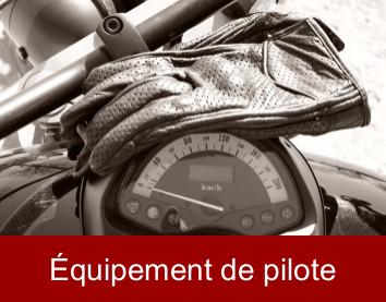 Produits pour pilote et passager du moto