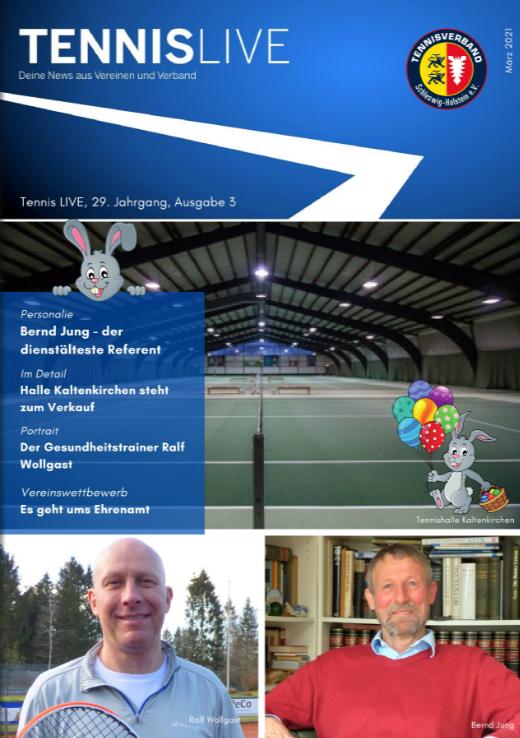 Tennis LIVE, 29. Jahrgang, Ausgabe 3/2021