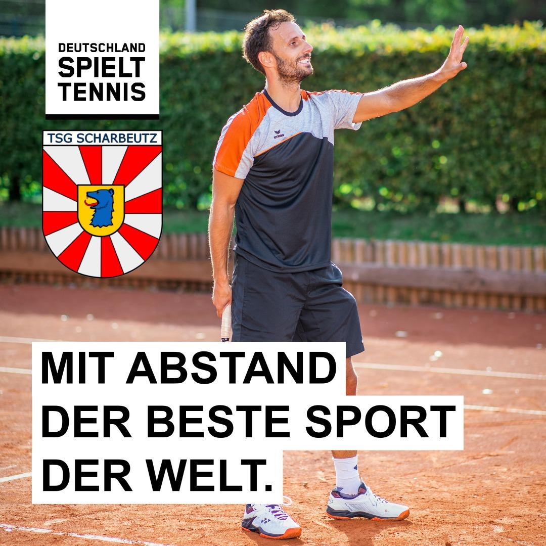 ... und wo steht die TSG auf Landesebene im sportlichen Vergleich zu den 320 Tennisclubs in Schleswig-Holstein❓