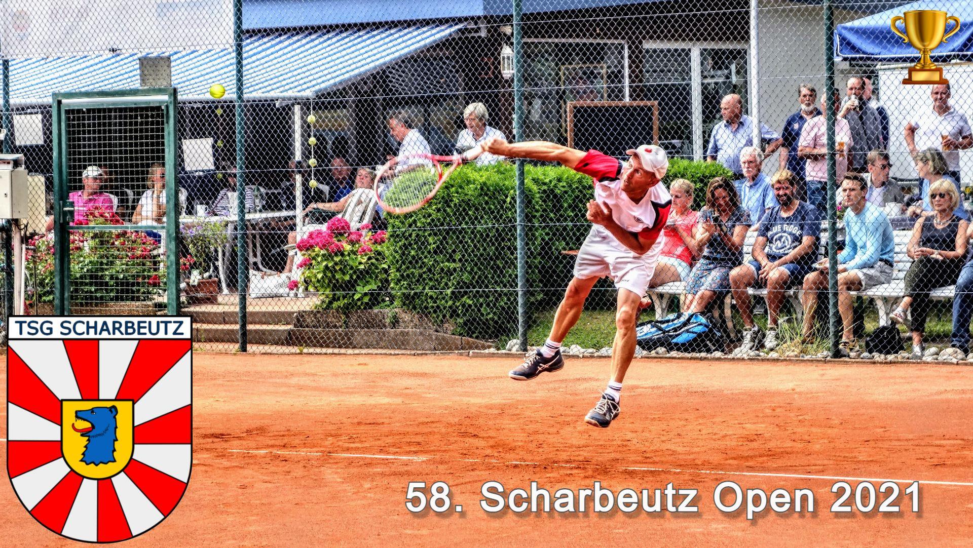 58. Scharbeutz Open 2021 . Die Tableaus stehen online ...