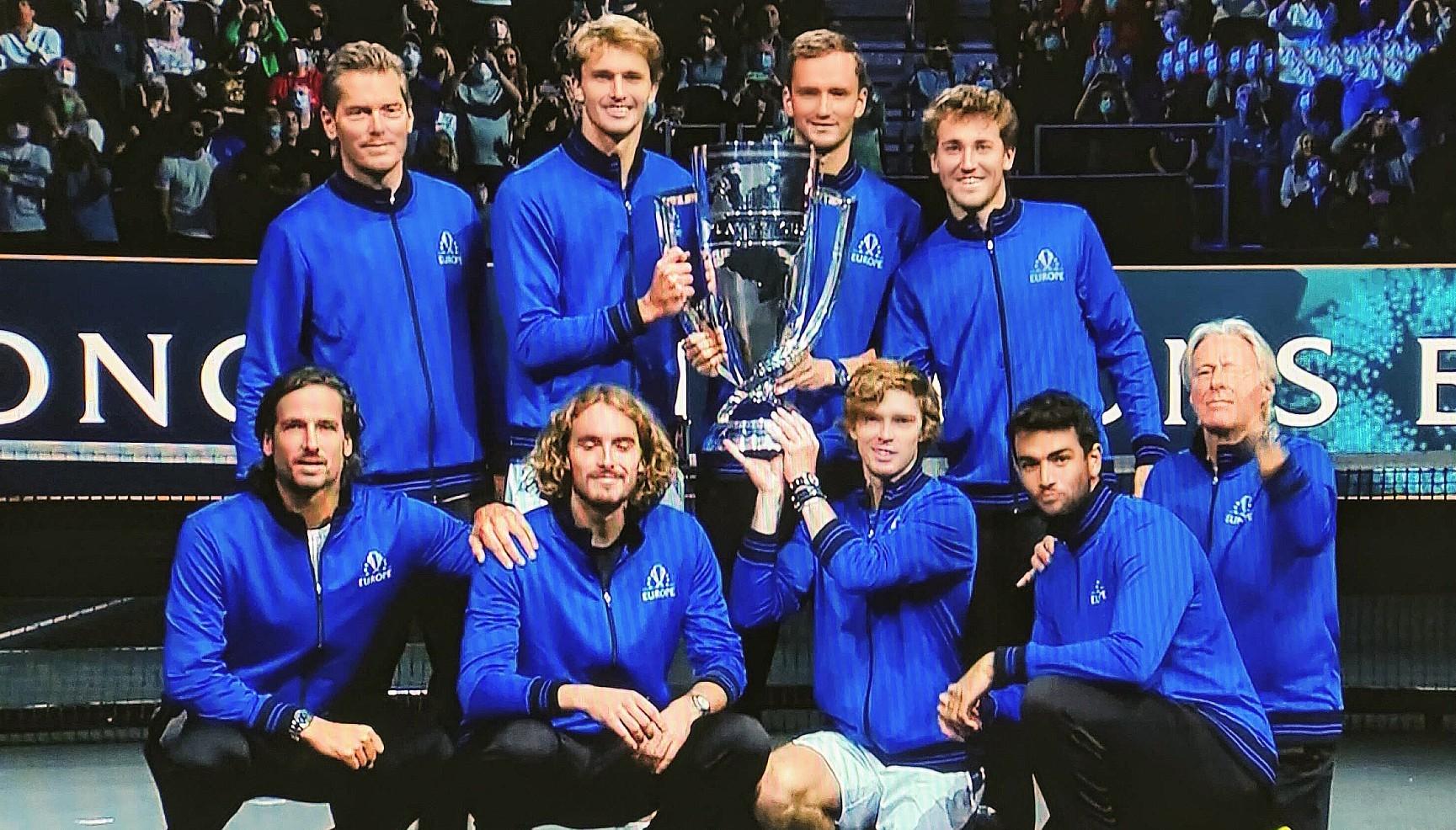 Rod Laver Cup 2021 . Europa gegen den Rest der Welt 14:1