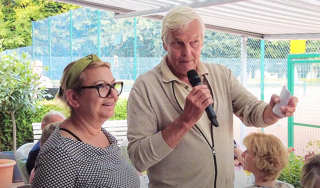 58. Scharbeutz Open 2021  die Danksagungen des 1. Vorsitzenden ...