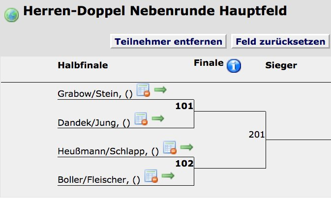 ☀️ Club-Meisterschaften vom 29. Aug. - 19. Sept. 2021 ... HERREN-DOPPEL-NEBENRUNDE IST AUSGELOST