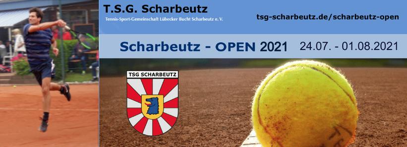 58. Scharbeutz Open 2021 ... in der Zeit vom 24. Juli - 01. August ... sind die Tennisplätze ausschließlich für das Turnier reserviert.