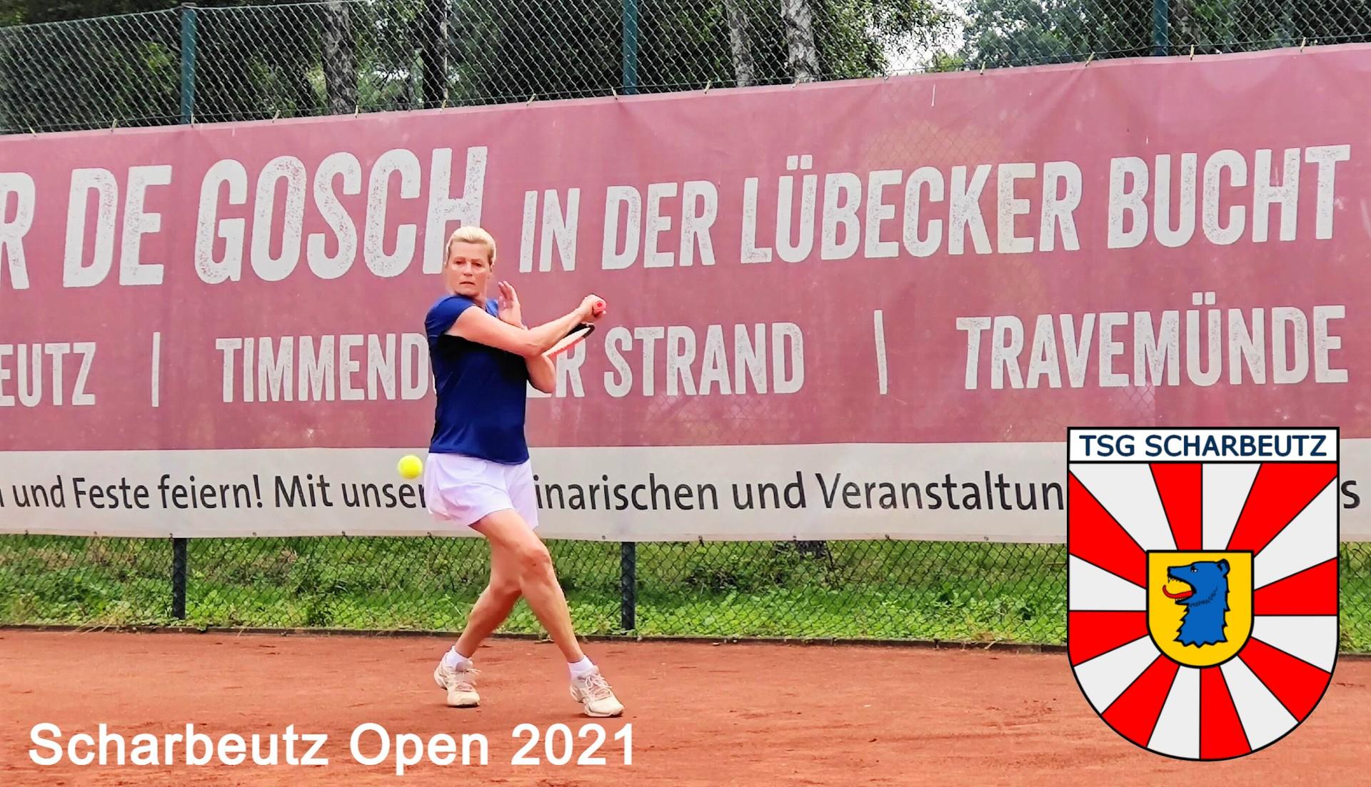 58. Scharbeutz Open 2021  Finalergebnisse und Tableaus ... Damen + Mixed