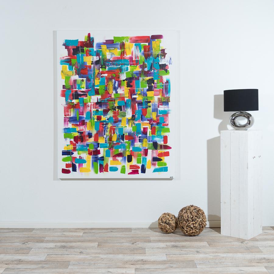 #20 alle Farben                          150 x 120cm