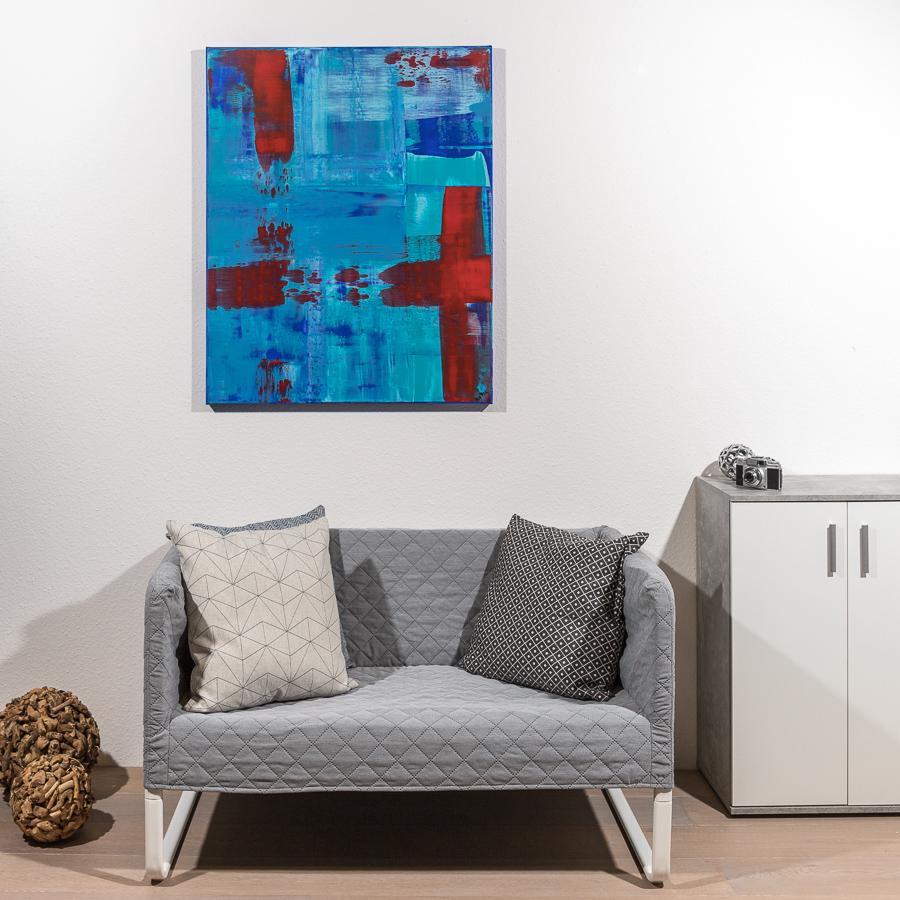 #54 blauer Traum                   100 x 80cm