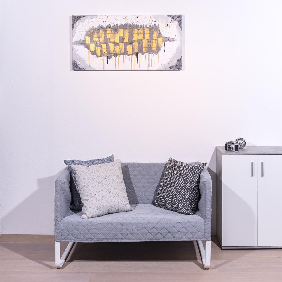 #47 Nachtschatten '19               50 x 150cm