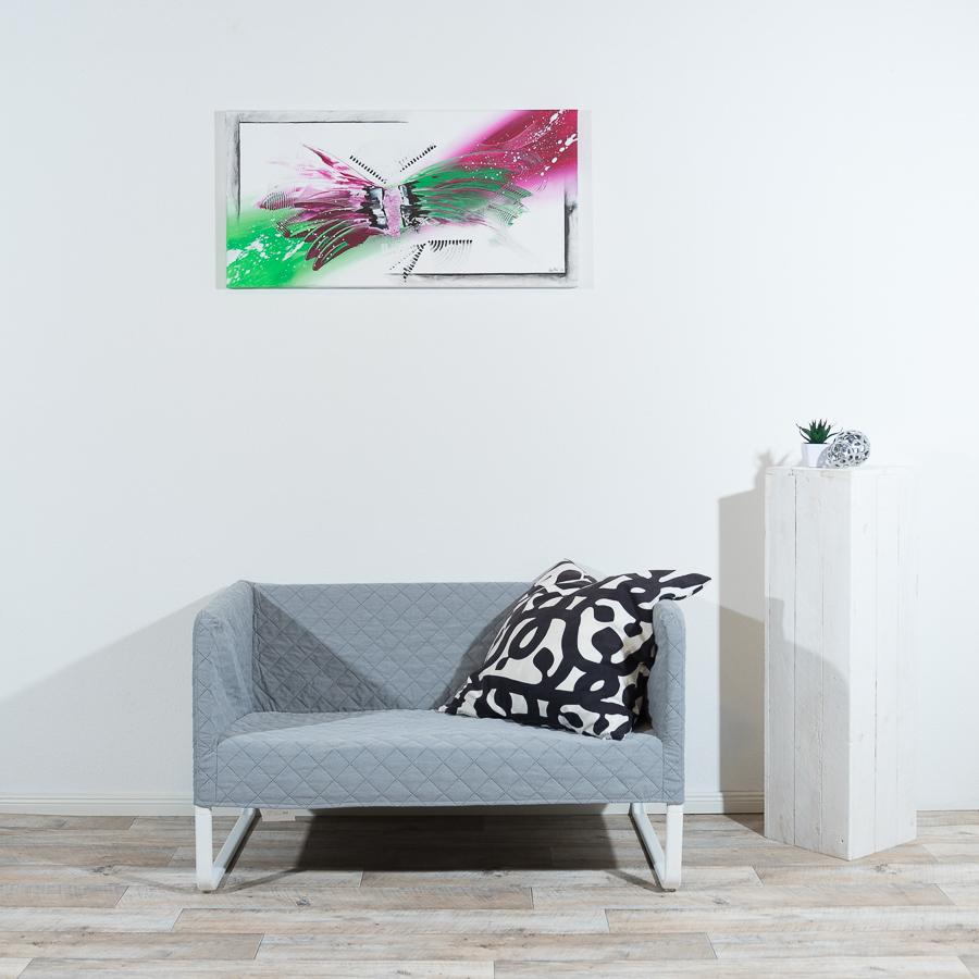 #6  Butterfly                                50 x 100cm