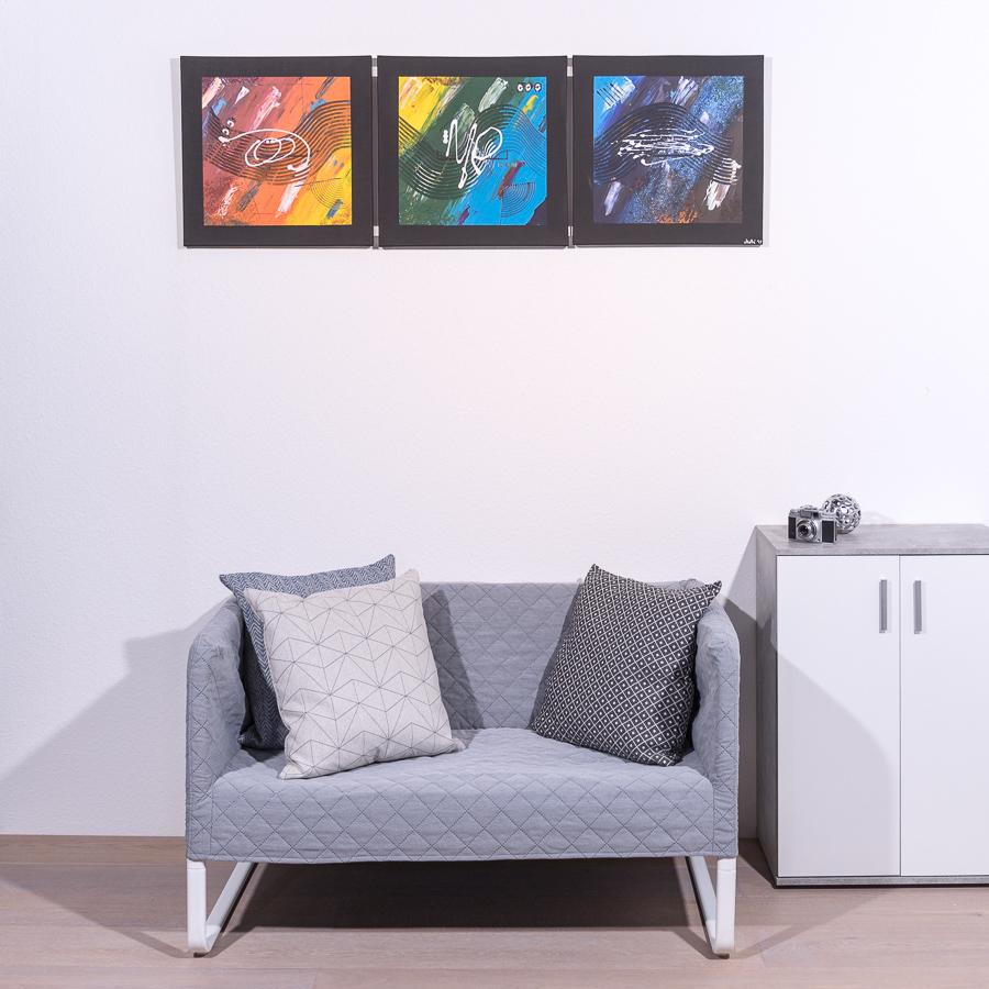 #3 Regenbogen '19                   50 x 150cm