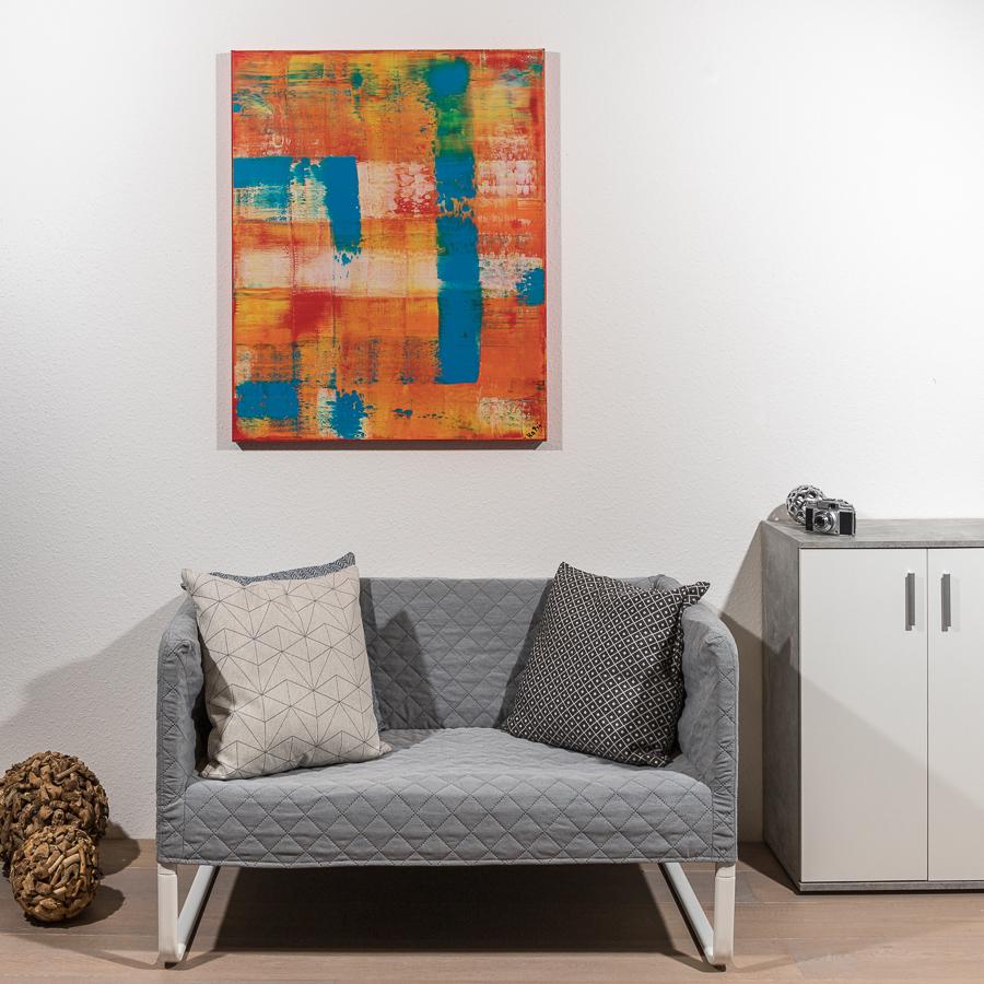 #52 oranger Traum                100 x 80cm