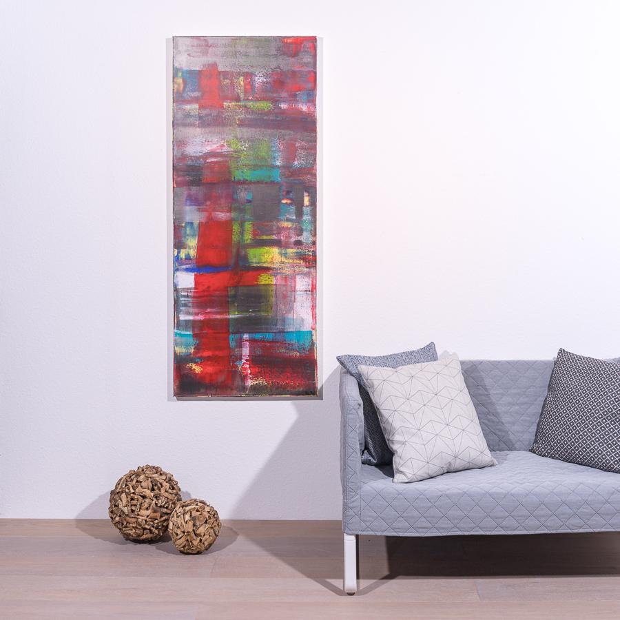 #43 Glücksgefühle '19                 60 x 150cm