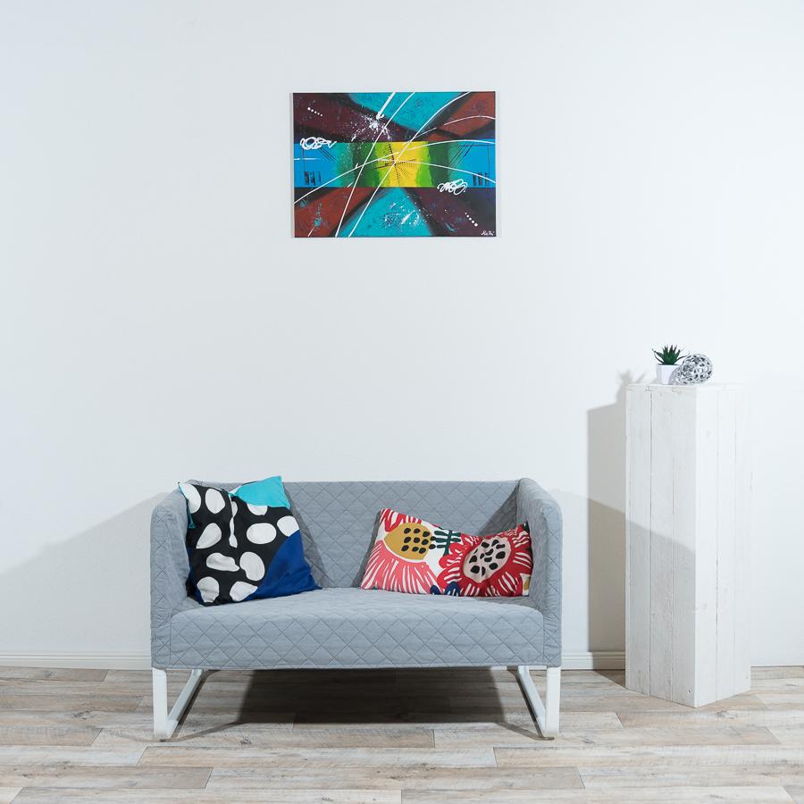 #13 Farbspiel                              50 x  70cm