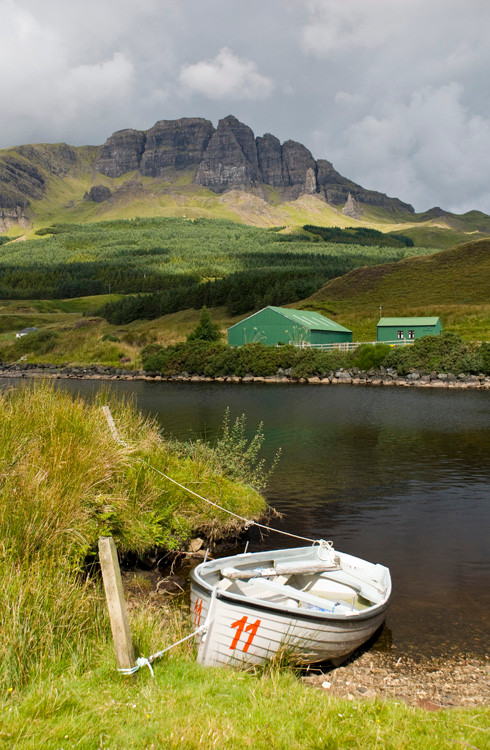 Loch Leathad and Stoerr.