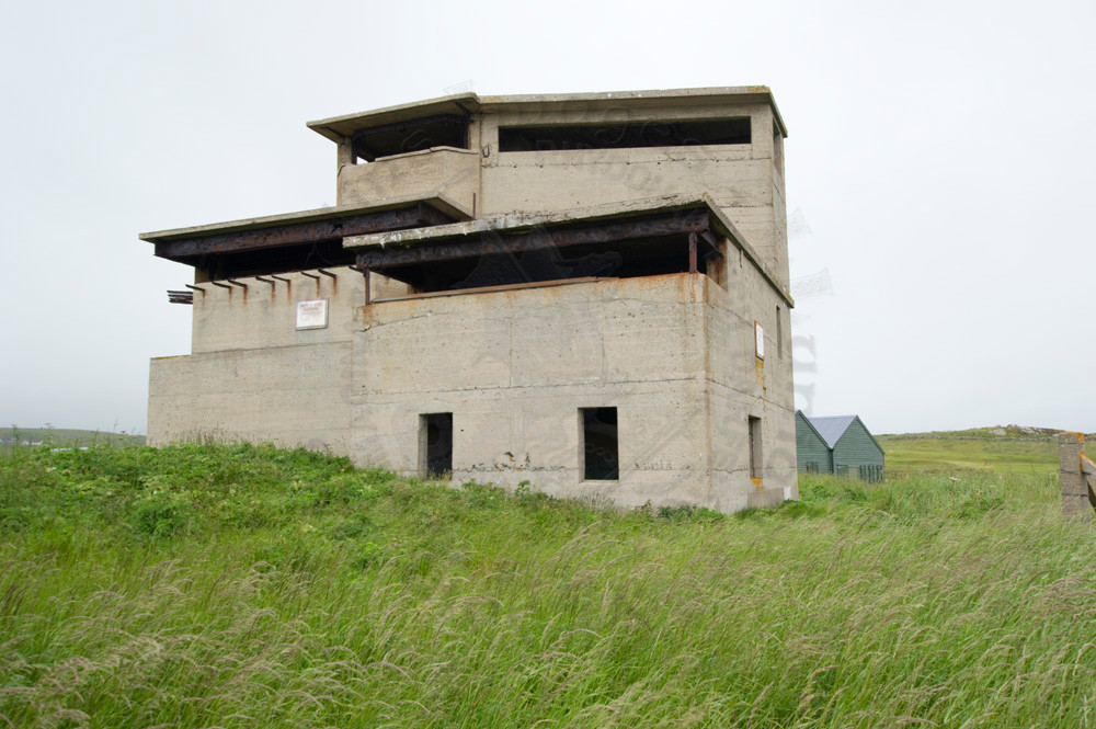 Army and Navy (both on rum) operations tower Ness Battery