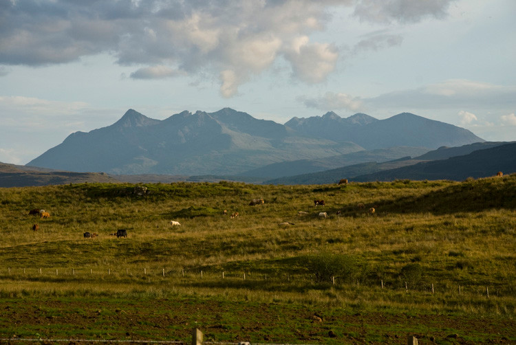 Cuillins from near Portree