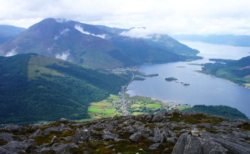 Pap of Glencoe - View from summit