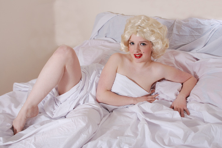 Marilyn Monroe - The Last Nude Shoot Re-enacted 11 -Megz