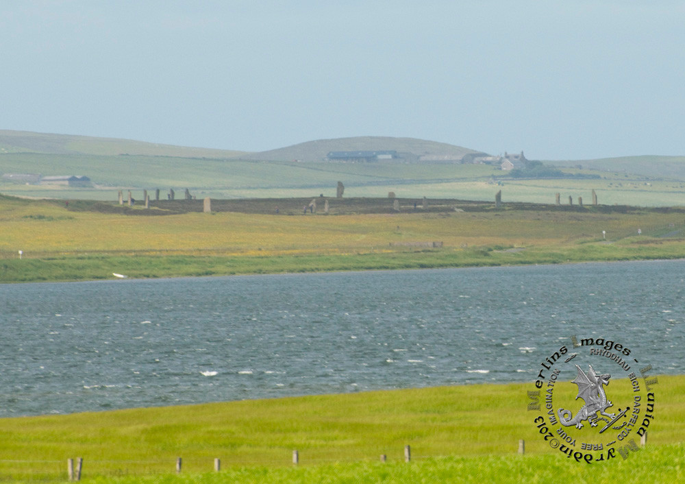 Ring O Brodgar from Maes Howe