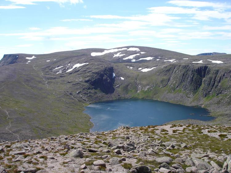 Loch Etachan and Ben Macdui