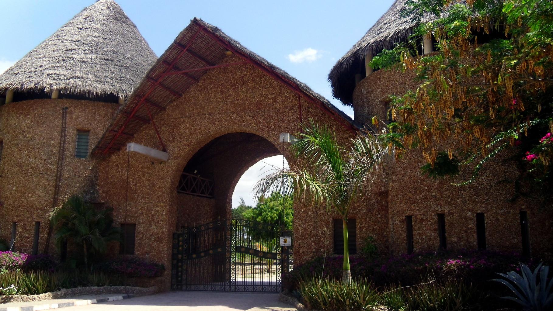 Holiday House Tembo Court Malindi - Entrance. Casa Vacanze Tembo Court Malindi -  Ingresso