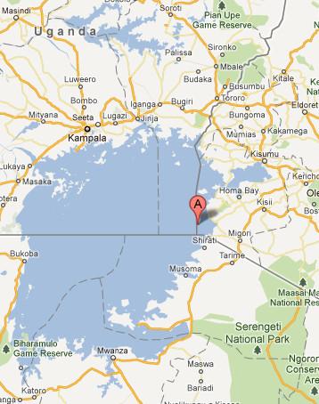 Migingo Map