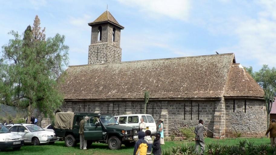 Church of Goodwill, sulla vecchia strada per Nakuru
