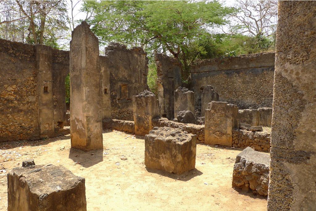 Le rovine di Gede, Kenya.