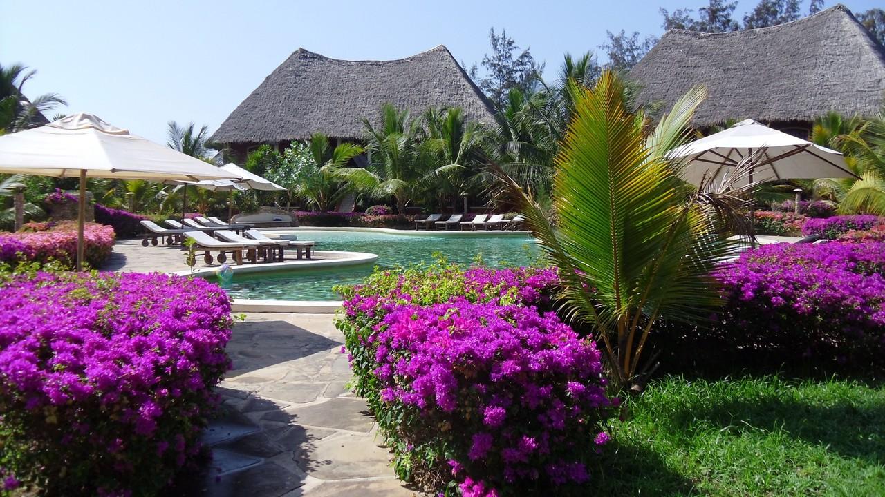 Holiday House Tembo Court Malindi - Gardens. Casa Vacanze Tembo Court Malindi -  Giardini