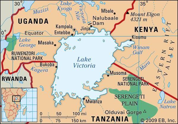 Lago Vittoria geopolitica