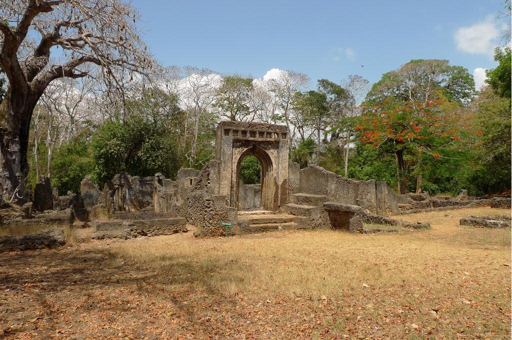 Le rovine di Gede, Kenya. Il Palazzo.