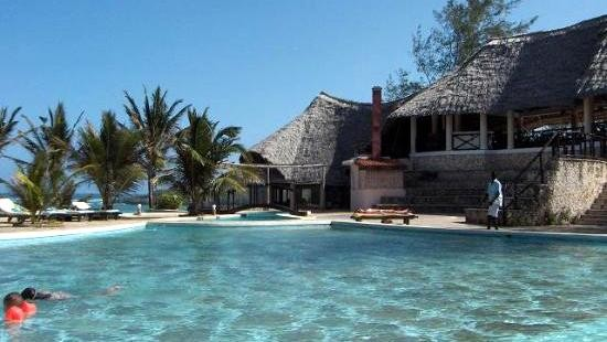 Watamu Beach Hotel-La piscina