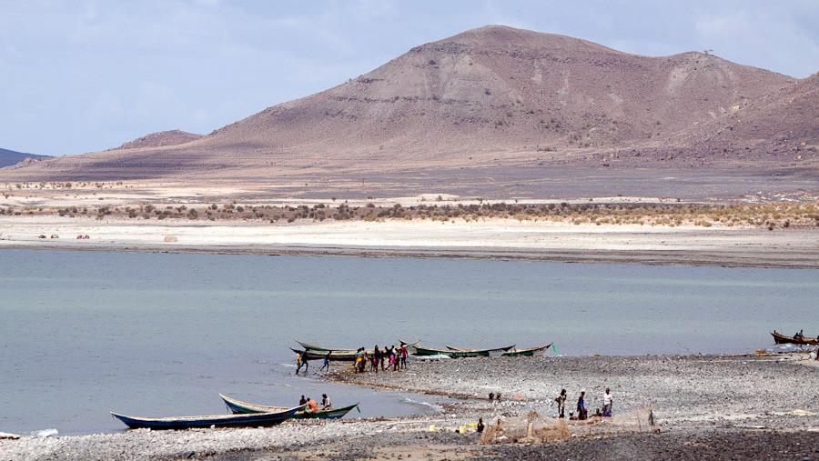 Lago Turkana Kenya