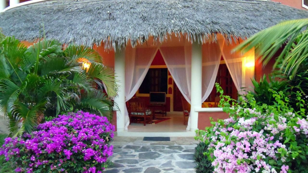Holiday House Tembo Court Malindi - Entrance Apartment. Casa Vacanze Tembo Court Malindi -  Ingresso Appartamento