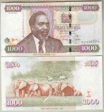 USD/KES - Dollaro Americano / Scellino Keniota