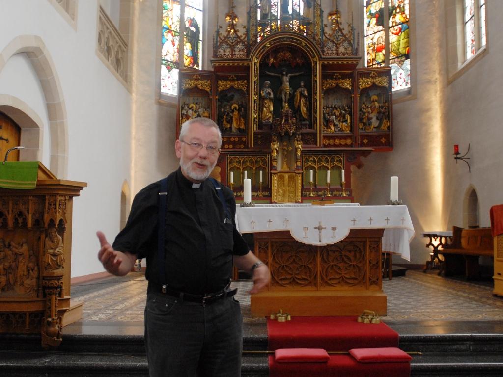 Pater Dietmar Weber feiert 75. Geburtstag