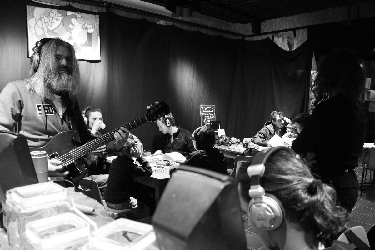 Café du soir - Performance éphémère avec Stéphane Kerihuel VS Léto