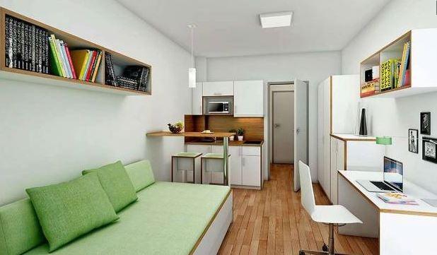 Komfortabel wohnen auf kleinster Fläche | Bild: eigenwert Gmbh