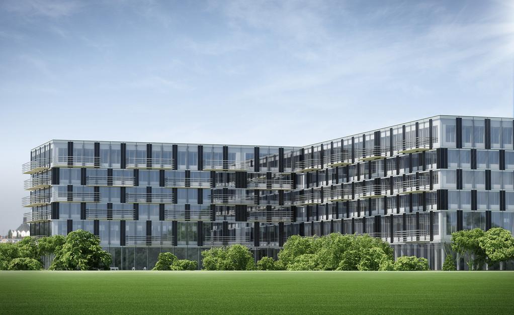 Zeitgemässe, urbane Wohnarchitektur:  Appartments in Systembauweise | © Cree GmbH