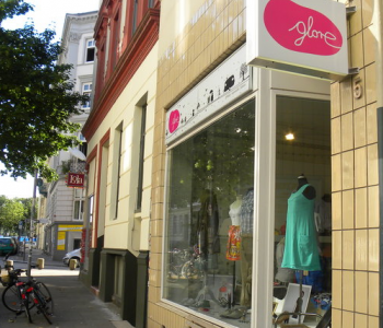 Green Fashion im Karoviertel: glore Hamburg | © greenIMMO