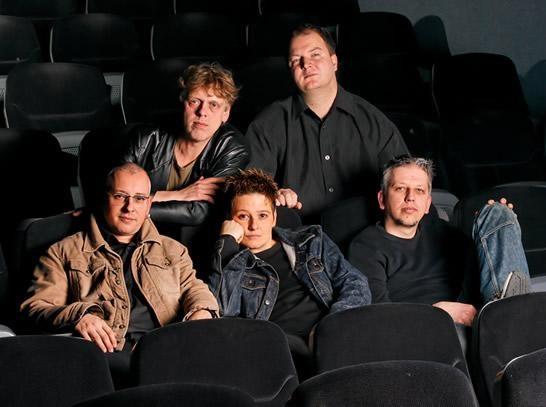 Die erste Besetzung 2007 - unsere erste EP stand an.
