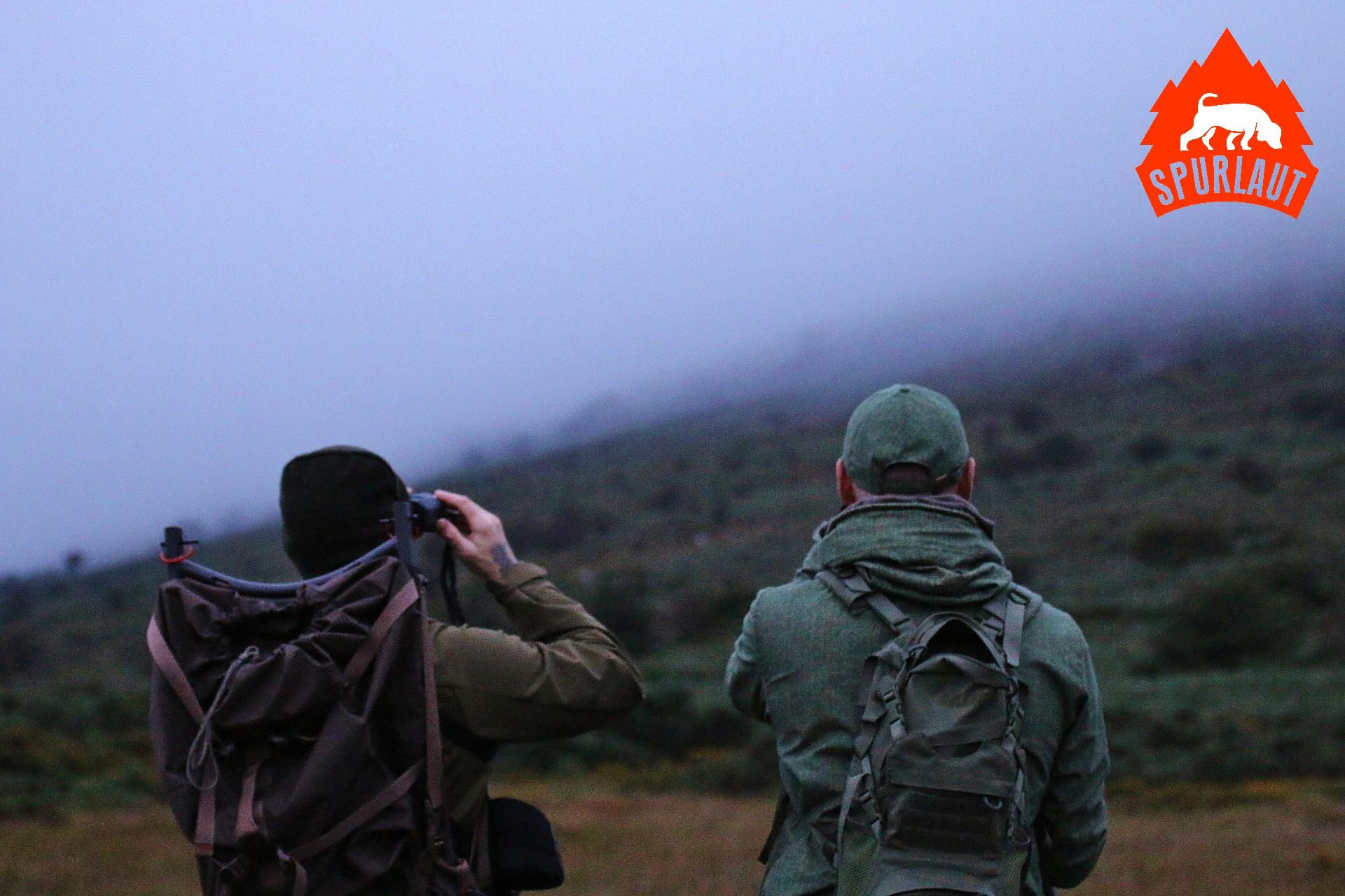 Die richtige Kleidung macht Jagd bei jedem Wetter möglich