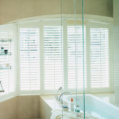 Fensterladen-Sonderform für Fenster mit rundem Bogen