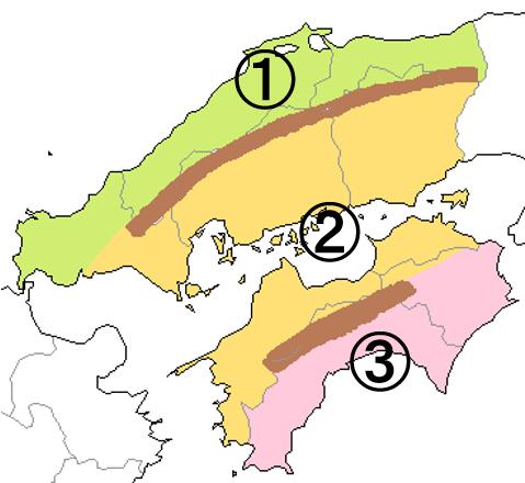 中学地理:日本の地域区分(しっかり)